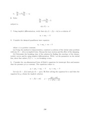 Differential Equations Lecture Work Solutions 246