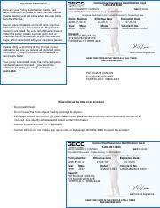 Insurance Id Card 2016 09 16 Connecticut Insurance