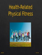 LEC 07 - Health related fitness - 09.13.2016 - posted