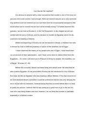 Thought Essay