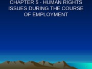 CHAPTER_5_-_HUMAN_RIGHTS_ISSUES_DURING_THE_COURSE_OF_EMPLOYMENT