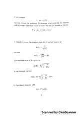 Lecture worksheet