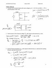 EE233 Practice Midterm1E Solutions