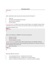 chapter 9 exam docx chapter 9 practical application final score