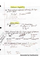 Calculus Lecture Notes MATH_250(5)
