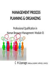 Mgt Process Plan  Org wo PIC new - 9th Jul'16.ppt