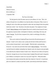 Author's Voice Paper