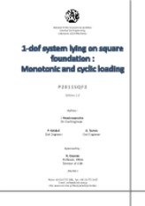 SDOF_Systems_Lying_on_Square_Footing_Monotonic_and_Cyclic_Loading