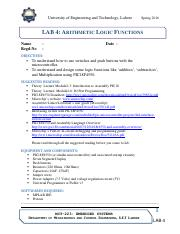 Lab_4_Arithematic Operations