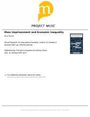Western, Mass Imprisonment and Economic Inequality.pdf