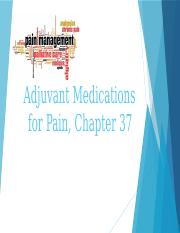 Adjuvant Medications for Pain CLASS 4pptx.pptx