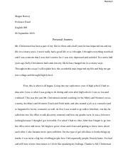 final frame case essay harvey megan harvey professor welty  4 pages personal journey