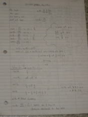 Percent Problems Notes