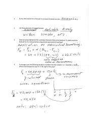 Exam III Practice Problems Solutions