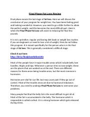 53192515-Final-Phase-Fat-Loss-Review-Lose-weight-Forever-or-Scam.docx