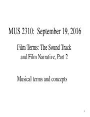 MUS 2310 Sept 19 2016 -Chapter 1 and Chapter 2 - course notes.pdf