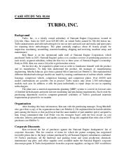 Case Study - Turbo - Inc. Puchasing