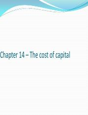 Chapter 14 – The cost of capital.pdf