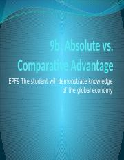 9b absolute comparative advantage