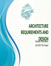 3. Architecture requirements and design.pptx