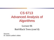 lecture06-RBTree