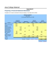 xacc 280 exercise financial statements