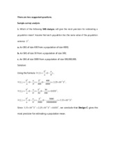 Suggested Problems 2