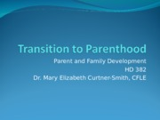 Transition to Parenthood-5.ppt