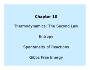 CH 301 - Chapter 10 Lecture Notes