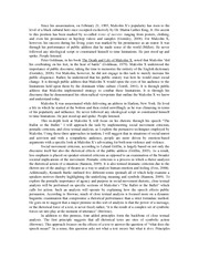 student paper example_close text_pentadic_social movement_Malcolm X speech 2