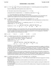 STATS 250 Homework 6 Solutions