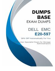 Dell EMC NetWorker E20-597 Dumps V12.02.pdf