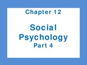 Chapter 12 Social Part 4
