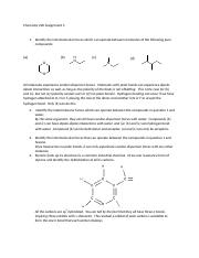 Chemistry 220 Assignment 3 Solutions.docx