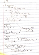 College Math 2.8 Arithmathic Notes