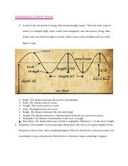 Introduction to Water Waves notes.docx