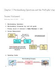 Chapter 5 Merchandising Operations and the Multiple-step Income Statement.pdf