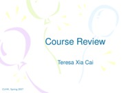 Course Review
