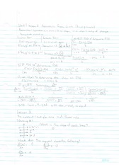 Derivatives from Limits Notes