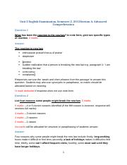 Unit 2 English Exam Semester 2 2013 Advanced Comprehension Answers.docx