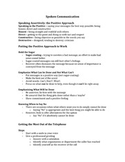 Class Notes for CSC290 - Business Communication Chapter 10