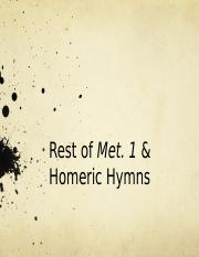 End of met 1 and hom hymns.pptx
