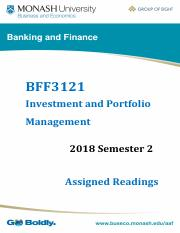 BFF3121 - 2018 S2 - Assigned Readings.pdf