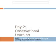 SS11_Unit_3_Day_2_Observational_Learning