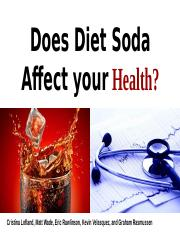 Diet Soda and Health effects.pptx