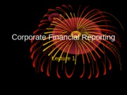 Copy of Corp Fin Rep Lecture 1