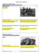 WWI Weapons Webquest.docx