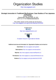 Case studies of two japanese companies