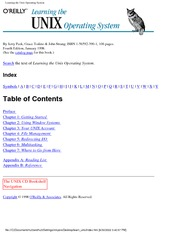 [ebook] O'Reilly - Learning the UNIX Operating System.pdf