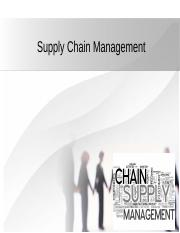 Supply Chain Management.ppt